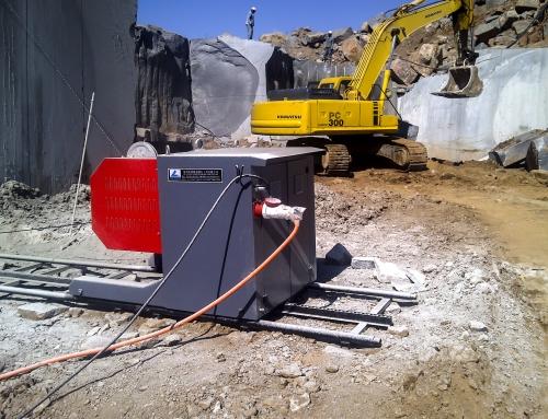 55Kw Quarry Saw