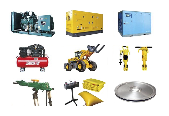 Equipment tools and consumables